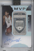 Bill Russell 2019-20 Panini Eminence 1 Troy Ounce Silver Bar Auto Autograph /10