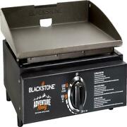 17 Inch Portable Tabletop Propane Griddle Stainless Steel Burner Outdoor Cooking