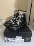 Rick Owens Doc Dr Martens 1460 Bex Ds Ro Leather Lace Up Boots Us8 Uk7 Ramones