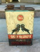 Whiz Shock Absorber Fluid For Delco Lovejoy 1 Gallon Vintage Automotive Can