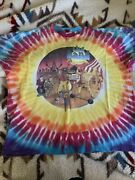 Vintage Original The Band Life Is A Carnival Tie Dye T-shirt Xxl Rare