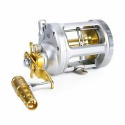 One Bass Fishing Reels Level Wind Trolling Reel Conventional Jigging Reel For...