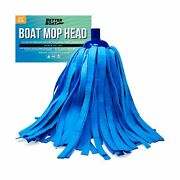 Better Boat Synthetic Chamois Mop Head Boat Cleaning Products Wash Mop For De...