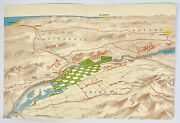 Map Colorado River Valley Proposed New Indian Lands Resort City Highway Plant