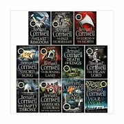 The Last Kingdom Series 11 Books Collection Set 1-11death Of Kings,warrior...