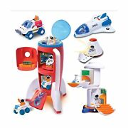 Astro Venture Deluxe Space Playset Toy - Space Shuttle, Space Station And Capsu...