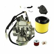 New Trx350 Carburetor For Honda Rancher 350 Trx350 350es 350fe 350fmte 350tm ...