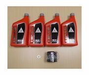 New 2001-2014 Honda Gl Gl1800 Goldwing Gold Wing Oe Synthetic Oil And Filter Kit
