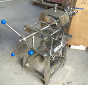 110v Stainless Steel Plate Frame Liquid Filter Water Filtration Machine
