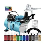Master Airbrush Cake Decorating Airbrushing System Kit With A Gravity Feed Ai...