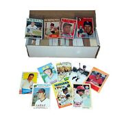 Baseball Card Starter Set 500 Cards Incl. 1950s-60s-70s-80s Book Value Of At ...