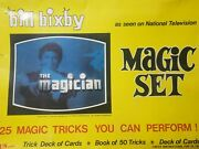 Vintage 1974 Bill Bixby The Magician Magic Set Complete Rare Find Must See