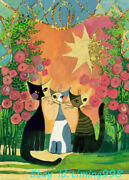 Heye Rose Scented Gold Leaf Cat 2000 Adult Stress Relief Puzzles Toys Gift New