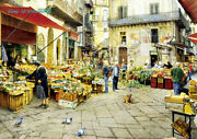 Educa Italian Bazaar Oil Painting 3000 Piece Adult Decompression Puzzles Toy New