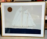 Raremid 20th Century Vanguard Studios Lithograph Signed By Andres...htf