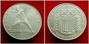 United States - Commemorative 1 Dollar 1992 D Xxv Olympiad Silver Coin