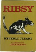 Beverly Cleary Ribsy First Edition 1964 1st Printing In Dj