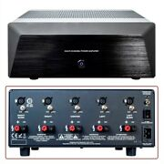 5 Channel 5x200w Power Amp Amplifier Home Theater System Audio Receiver Xlr Rca