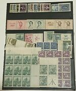 Antique Vintage Ceskoslovensko Czechoslovakia Stamp Collection Mixed Stamps Lot