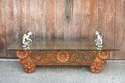 Balinese Carved Diety Table