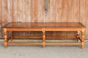Low Anglo Indian Inlaid Teak Table