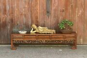 Early 20th Century Chinese Carved Rosewood Table