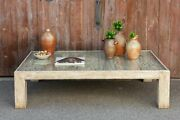 Antique White French Coffee Table
