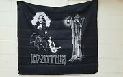 Led Zeppelin 45x42 Fabric Wall Hanging Tapestry Nos