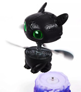 Dreamworks Dragons, Flying Toothless Interactive Dragon W/ Lights And Sounds New