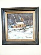 Christopher Willet Original Oil Painting 2 On Canvas Signed And Custom Framed -