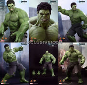 Hot Toys Mms186 The Avengers 1/6 Hulk Limited Edition Sealed In Brown Box Canada