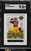 2005 Topps Football Aaron Rodgers Rookie Rc 431 Sgc 9.5 Mint+