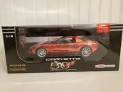 Ertl American Muscle 2003 Chevy Corvette Convertible Z06 Red 118 Diecast Car