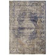 Mda Home Antique 8and039x11and039 Abstract Traditional Fabric Area Rug In Beige/brown