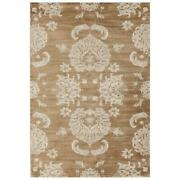 Mda Home Antique 8and039x11and039 Traditional Fabric Area Rug In Beige/brown