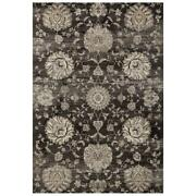Mda Home Antique 9and039x12and039 Floral And Botanical Fabric Area Rug In Gold/beige