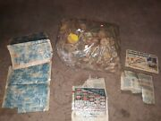 Huge Lot Vintage Tinker Toys Wooden Wheels Sticks And More 1950s With Manuals