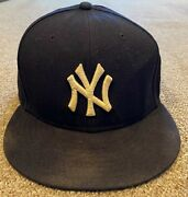 Aaron Judge Mlb Holo Steiner Sports Game Used Hat Cap Rookie 2017 Ny Yankees