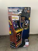 Arcade 1up Pacman 40th Anniversary Edition W/stool/riser/light Up Marquee And Deck