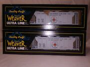 Weaver Models - Two United States Borax And Chemical Ps-2 Covered Hoppers O Scale