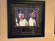 Lot Of 3 Ken Griffey Jr Items - Photo And 2 Baseball Cards