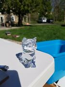 Lead Crystal Princess House Cat Paper Weights/figurines