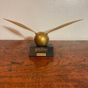 Harry Potter Golden Snitch Promo Japan Serial Number Limited Very Rare L04