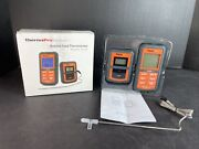 Therm Pro Remote Food Thermometer Model Tp-07s New Open Box Cook Bbq Smoker