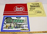 Lgb G Scale Garden Trains Color Catalog With Pola Buildings