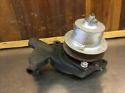 Triumph Tr3 / Tr4 / Tr4a 1953-67 Andbull Water Pump + Housing + Pulley. Used. T2292