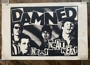 The Damned Neat Neat Neat 1977 Poster - Ultra Rare