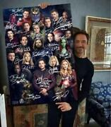 The Avengers End Game All Star Replica Sign Infinity War Iron Man Sanos Limited