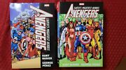 Marvel Earthandrsquos Mightiest Heroes The Avengers Omnibus Volume 1 And 2