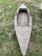 Vintage Wood Duck Boat Wood Plywood Approx 70 Years Old Drake Mallard Teal Decoy